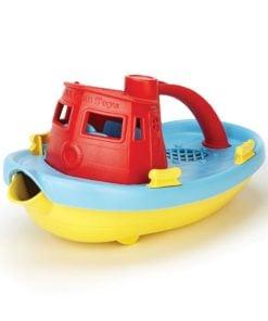 Sleepboot rood Gieter Green Toys -wonderzolder.nl