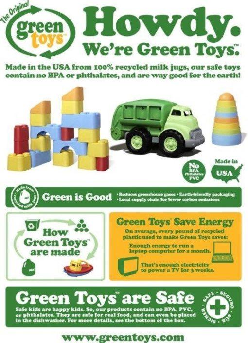 Hoe wordt Green Toys gemaakt, gerecycled, melkpakken, recycle plastic, wonderzolder.nl
