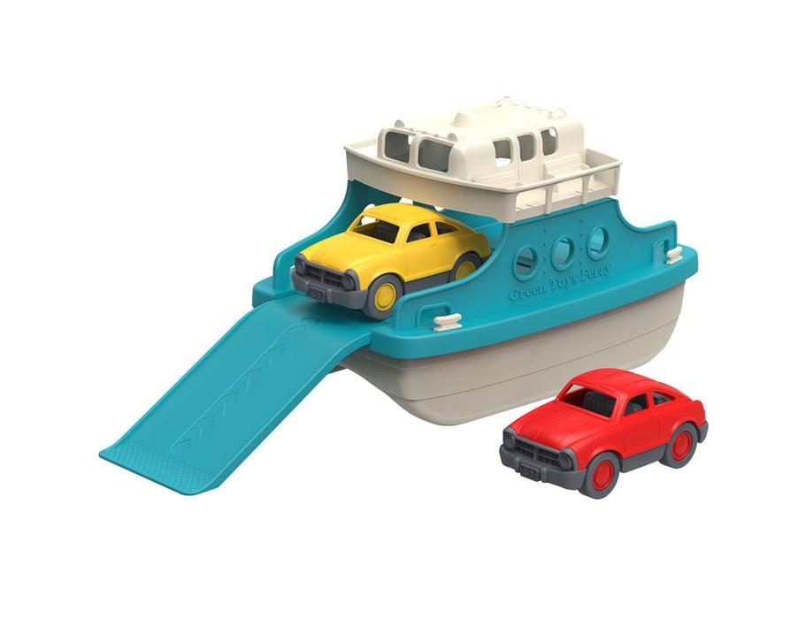 Veerboot met auto's, Green Toys, Wonderzolder.nl