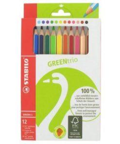 Stabilo, Greentrio, kleurpotloden, wonderzolder.nl