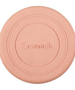 Scrunch frisbee blush pink, roze lichtgewicht frisbee, wonderzolder.nl