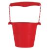 Scrunch bucket red, opvouwbare emmer rood, wonderzolder.nl