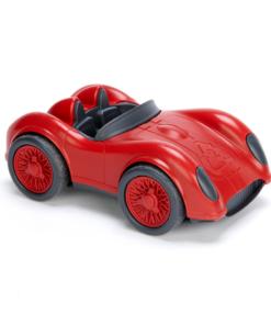 Race auto rood Green Toys -liefsvanlauren.nl