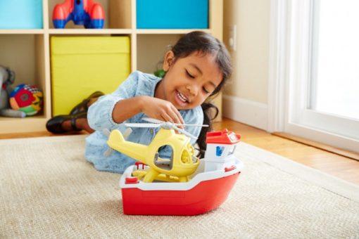 reddingsboot Green Toys, wonderzolder.nl