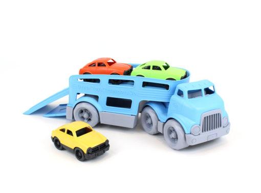 Autotransporter, Green Toys, wonderzolder.nl