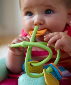 Baby rammelaar, Green Toys, wonderzolder.nl