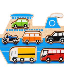 Auto insteek puzzel van Lanka Kade