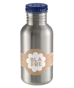 Steel bottle 500 ml Blue van Blafre, drinkfles RVS -wonderzolder.nl