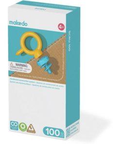 Makedo, 100 schroeven set, extra schroeven maker, wonderzolder.nl