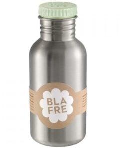 Steel bottle 500 ml Light Green van Blafre, drinkfles RVS -wonderzolder.nl