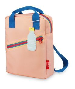 Rugzak small 'Zipper Pink' Engelpunt, roze, rugtas-wonderzolder.nl