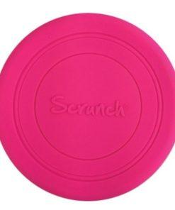 Scrunch frisbee pink, roze frisbee, wonderzolder.nl