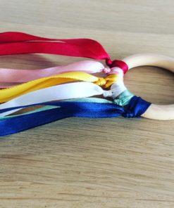 handvlieger regenboog pastel, pasteltinten, handslinger, liefs van lauren, wonderzolder.nl
