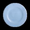 rice plate dusty blue bord wonderzolder