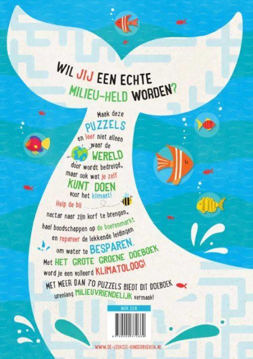 Het grote groene doelboek, eco, milieuvriendelijk, spelletjes, wonderzolder.nl