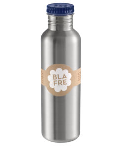 Steel bottle 750 ml Dark Blue, blafre, RVS Fles, wonderzolder.nl