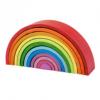 Regenboog groot, bigjigs regenboog, houten regenboog, wonderzolder.nl
