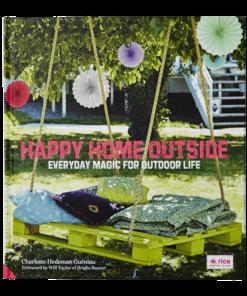Happy home outside boek, RICE, kleurrijk buitenleven, wonderzolder.nl