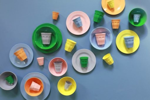 Let's Summer, RICE, RICEdk, Melamine, servies, wonderzolder.nl