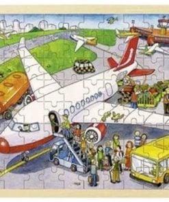 het vliegveld puzzel, goki puzzel, xxl puzzel, wonderzolder.nl