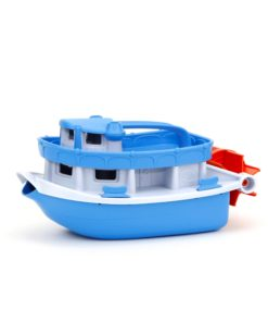 Boot met waterrad, paddle boat, Green Toys, Wonderzolder.nl
