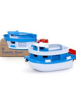 Boot met waterrad, paddle boat, Green Toys, Wonderzolder.nl