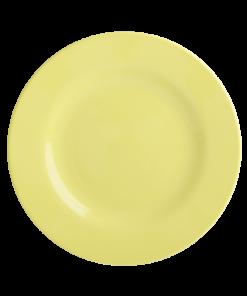 rice bord soft yellow, bord, plate, wonderzolder