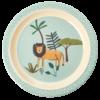 Lunch plate Jungle Animal Blue, Rice servies, RICE Denemarken, Fair Trade servies, Melamine, Wonderzolder.nl