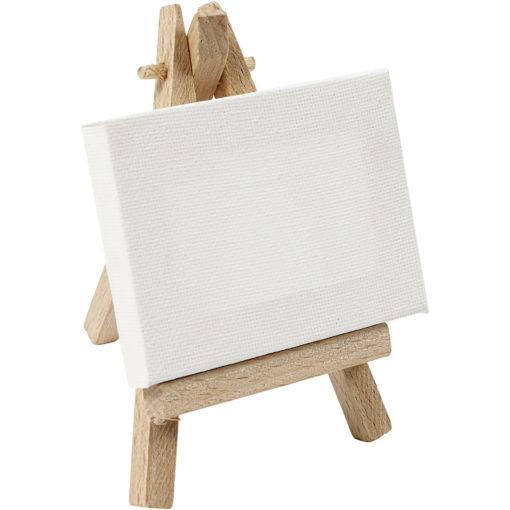 Mini schildersezel in stolp, schildersezel met quote, wonderzolder.nl