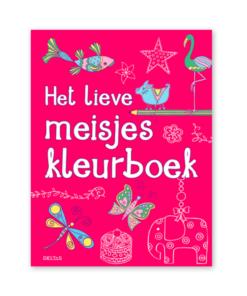 het lieve meisjes kleurboek, kleuren en knutselen, meisjes kleurplaten, deltas, wonderzolder.nl