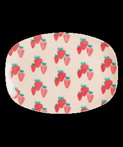 rice aardbeien plate small wonderzolder