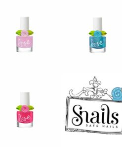 Snails, peel off nagellak, Rose nagellak, kinder make-up, kinder nagellak, wonderzolder.nl