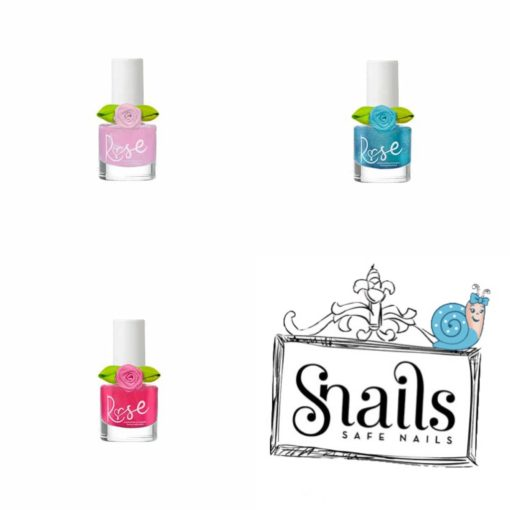 Snails, peel off nagellak, Rose nagellak, kinder make-up, kinder nagellak, wonderzolder.nl