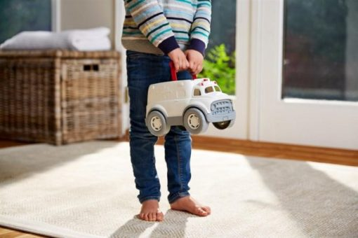 Ambulance met doktersset, Green Toys speelgoed, doktertje spelen, wonderzolder.nl