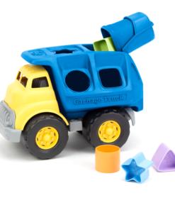 Vrachtwagen vormenstoof, Green Toys vrachtwagen, babyspeelgoed, duurzaam, wonderzolder.nl