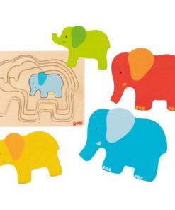 wonderzolder puzzel olifant
