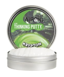mini thinking putty Krypton, Glow in the Dark, crazy Aarons, mini electric, thinking putty, wonderzolder.nl
