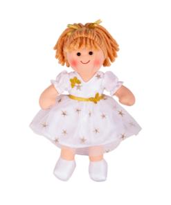 pop engel charlotte, pop bigjigs, stoffen pop, engel pop, wonderzolder.nl
