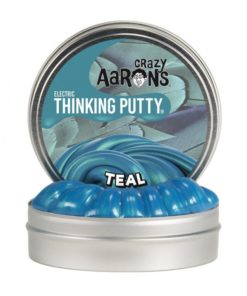 mini electric putty teal, crazy Aarons, thinking putty, wonderzolder.nl