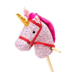 stokpaard roze