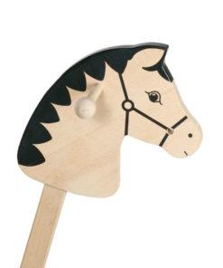 stokpaard hout, goki, blank houten stokpaard, wonderzolder.nl