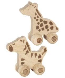 rijdende diertjes, rijdende zebra, rijdende giraffe, push along animals, Goki, wonderzolder.nl