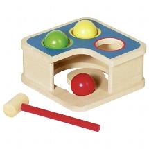 hamerspel, goki, babyspeelgoed, houten speelgoed, wonderzolder.nl