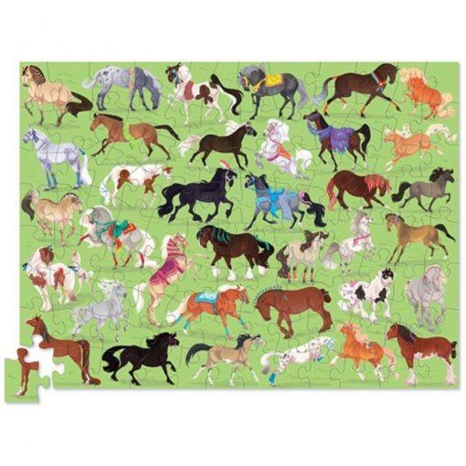 36 paarden puzzel, thirty six puzzle, crocodile creek, paardenliefhebbers, wonderzolder.nl