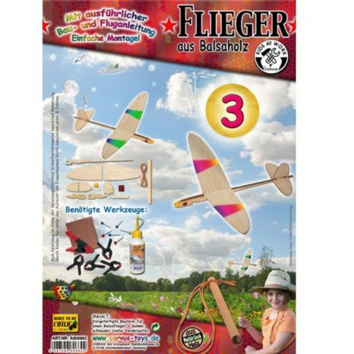 Houten vliegtuig katapult nr. 3, bouwpakket vliegtuig, houten vliegtuigje, kids at work, katapult vliegtuig, wonderzolder.nl