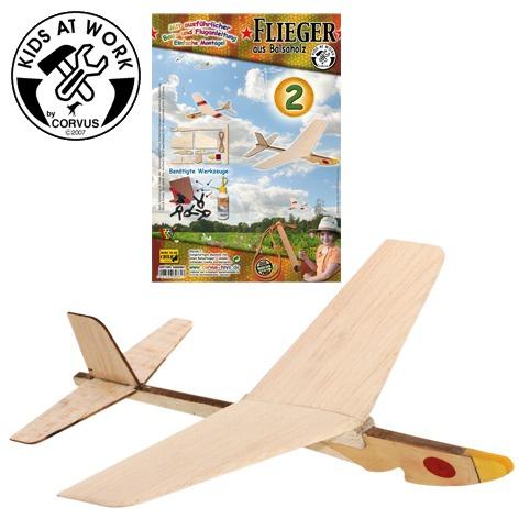 Houten vliegtuig katapult nr. 2, bouwpakket vliegtuig, houten vliegtuigje, kids at work, katapult vliegtuig, wonderzolder.nl