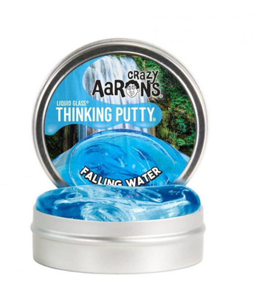 falling water putty, liquid glass putty, crazy aaronds, kneed gum, wonderzolder.nl