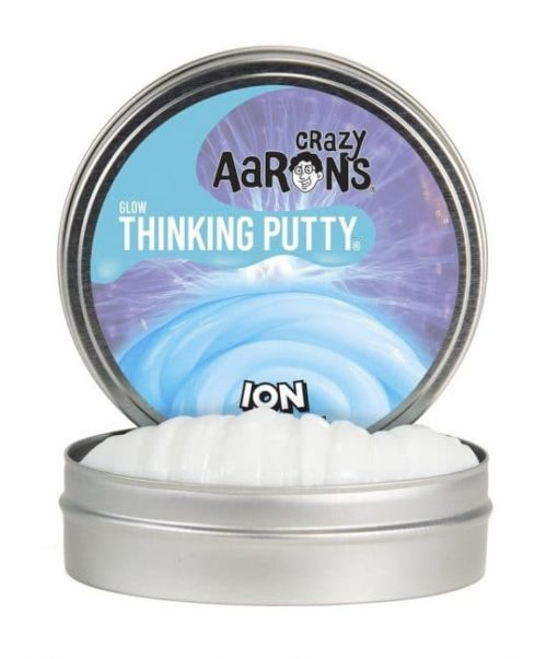 mini thinking putty ion, ion glow putty, crazy Aarons, wonderzolder.nl