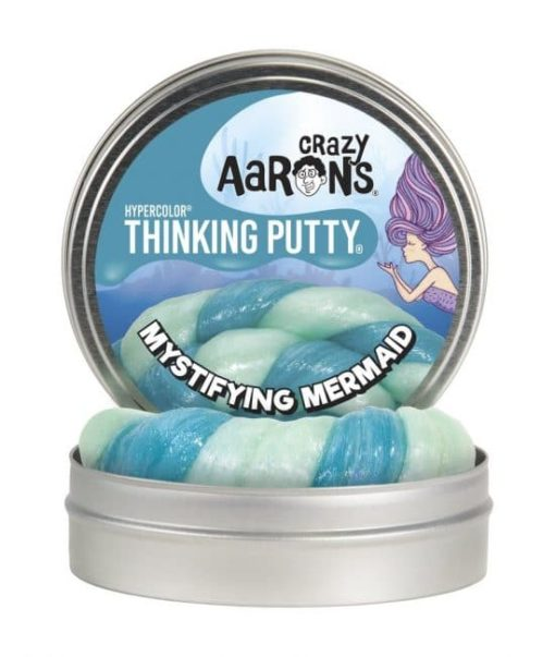 Mystifying mermaid putty, crazy Aarons putty, thinking putty, zeemeermin putty, hyper color, wonderzolder.nl