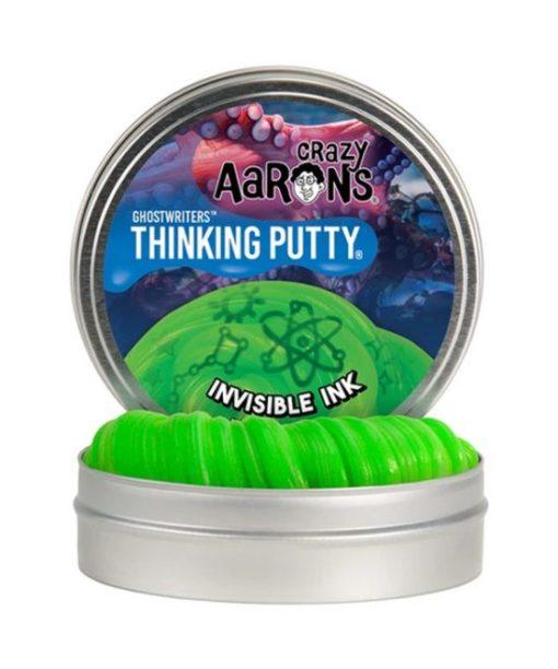 putty invisible ink, thinking putty, onzichtbare inkt, crazy Aarons, wonderzolder.nl